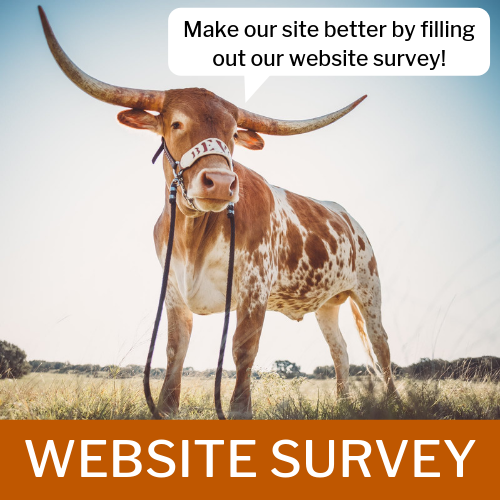 TCDS Website Survey